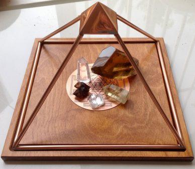 meru piramide edelstenen